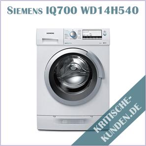 Siemens Waschtrockner iQ700
