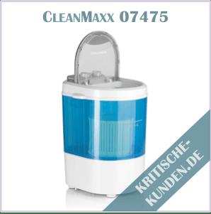 CleanMaxx Mini-Waschmaschine Erfahrungen