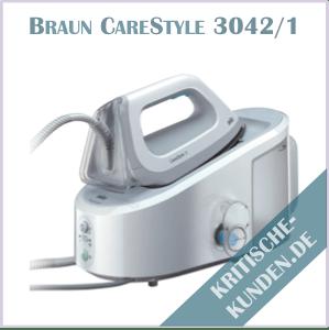 Braun CareStyle Dampfbügelstation Erfahrungen