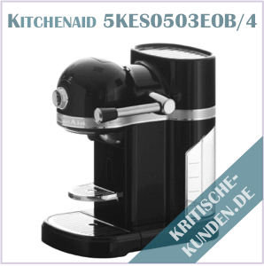 Kitchenaid Artisan Nespressomaschine Erfahrungen