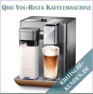 Qbo You-Rista Kaffee-Kapselmaschine Erfahrungen