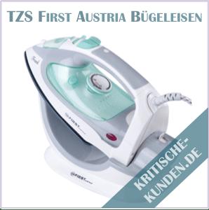 TZS First Austria kabelloses Dampfbügeleisen