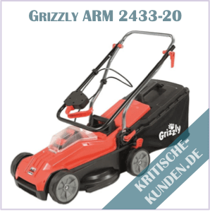 Grizzly Akku-Rasenmäher Erfahrungen