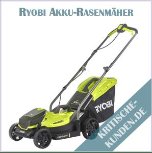 Ryobi Akku-Rasenmäher Erfahrungen