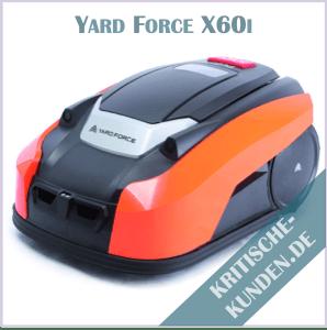 Yard Force Mähroboter Erfahrungen